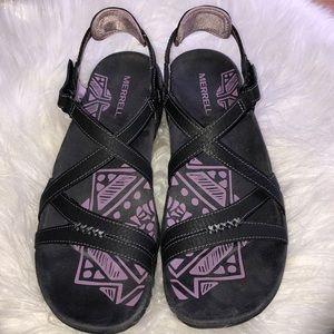 Merrill Sandspur rose shoes NEW sz 8